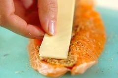 «Лосось с сыром в панировке» - приготовления блюда - шаг 2