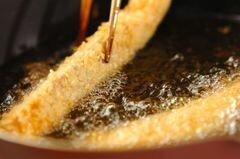 «Лосось с сыром в панировке» - приготовления блюда - шаг 3