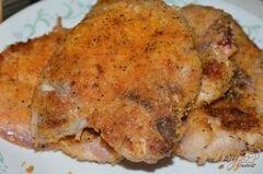 «Свиные котлеты со сливочным соусом и беконом» - приготовления блюда - шаг 4