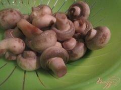 «Грибной салат» - приготовления блюда - шаг 1