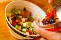 «Салат из кускуса» - приготовления блюда - шаг 2