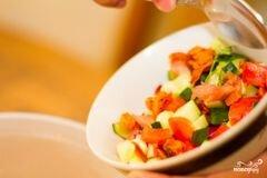 «Салат из кускуса» - приготовления блюда - шаг 3