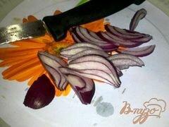 «Салат с айсбергом, помидорами и моцарелой» - приготовления блюда - шаг 2