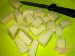 «Салат с айсбергом, помидорами и моцарелой» - приготовления блюда - шаг 4