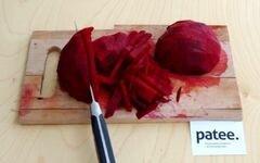 «Красный борщ с фасолью и савойской капустой» - приготовления блюда - шаг 7