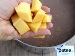 «Красный борщ с фасолью и савойской капустой» - приготовления блюда - шаг 8
