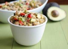 «Куриный салат с киноа» - приготовления блюда - шаг 10