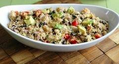 «Куриный салат с киноа» - приготовления блюда - шаг 7