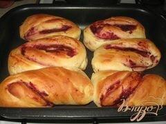 «Булочки с вишневой начинкой» - приготовления блюда - шаг 8