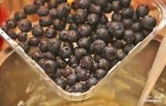 «Творожники с голубикой» - приготовления блюда - шаг 8
