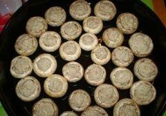 «Закуска грибная с мясом и соусом» - приготовления блюда - шаг 4