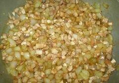 «Закуска грибная с мясом и соусом» - приготовления блюда - шаг 8