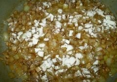 «Закуска грибная с мясом и соусом» - приготовления блюда - шаг 9