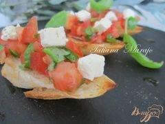 «Брушетта..вкус Средиземноморья» - приготовления блюда - шаг 3