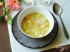 «Овсяный суп с фасолью» - приготовления блюда - шаг 6