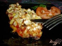 «Рыба, запеченная с чесноком и луком» - приготовления блюда - шаг 6