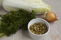 «Салат с горошком» - приготовления блюда - шаг 1