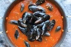 «Мидии в соусе Фра-Дьяволо» - приготовления блюда - шаг 5