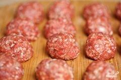 «Суп с мясными фрикадельками» - приготовления блюда - шаг 11