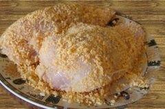 «Хрустящие куриные грудки» - приготовления блюда - шаг 1