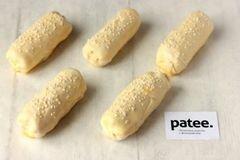 «Пирожки из слоёного теста с ветчиной и сыром» - приготовления блюда - шаг 10
