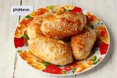 «Пирожки из слоёного теста с ветчиной и сыром» - приготовления блюда - шаг 11