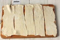 «Пирожки из слоёного теста с ветчиной и сыром» - приготовления блюда - шаг 2