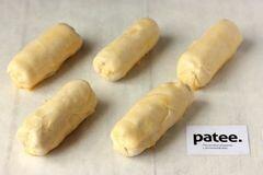 «Пирожки из слоёного теста с ветчиной и сыром» - приготовления блюда - шаг 9