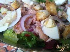 «Деревенский салат» - приготовления блюда - шаг 10