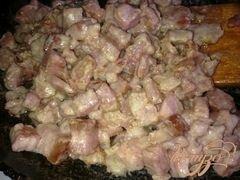 «Деревенский салат» - приготовления блюда - шаг 3