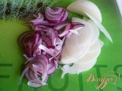 «Деревенский салат» - приготовления блюда - шаг 4