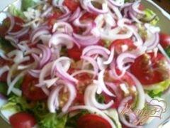 «Деревенский салат» - приготовления блюда - шаг 8