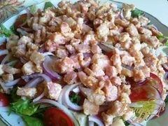 «Деревенский салат» - приготовления блюда - шаг 9