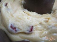 «Кекс с вяленой вишней» - приготовления блюда - шаг 2