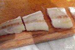 «Минтай в духовке с картофелем» - приготовления блюда - шаг 2