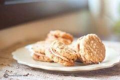 «Овсяное печенье-сэндвичи» - приготовления блюда - шаг 12