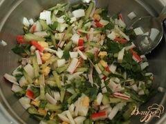 "«Салат ""Манхэттен""» - приготовления блюда - шаг 2"