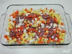 «Говядина запеченная с овощами» - приготовления блюда - шаг 4