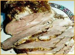 «Буженина из говядины.» - приготовления блюда - шаг 7