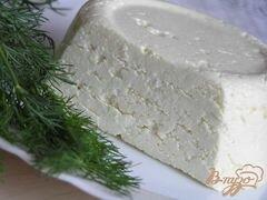 «Домашний адыгейский сыр» - приготовления блюда - шаг 7