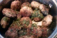 «Котлеты с сырной начинкой» - приготовления блюда - шаг 5