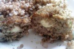 «Котлеты с сырной начинкой» - приготовления блюда - шаг 6