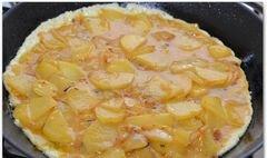 «Испанская тортилья с розмарином» - приготовления блюда - шаг 11