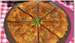 «Испанская тортилья с розмарином» - приготовления блюда - шаг 15