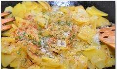 «Испанская тортилья с розмарином» - приготовления блюда - шаг 9