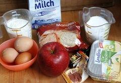 «Миндально-яблочный пирог» - приготовления блюда - шаг 1