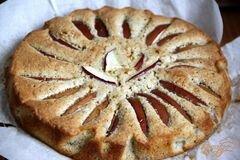 «Миндально-яблочный пирог» - приготовления блюда - шаг 7
