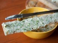 «Чесночные сухарики из чабатты» - приготовления блюда - шаг 3