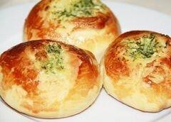 «Чесночные булочки» - приготовления блюда - шаг 5