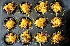 «Запеченный картофель с ветчиной и сыром» - приготовления блюда - шаг 13